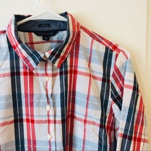 Tommy Hilfiger Shirts - Tommy Hilfiger Multicolor Button Front Shirt